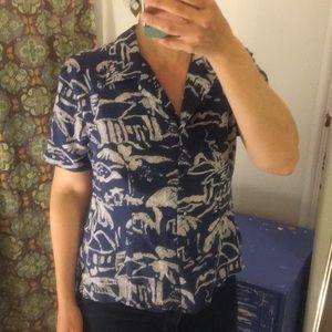 Vintage Allison Taylor Silk Shirt